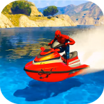 Superhero Extreme Jetski Racing and Water Race 1.2 (Mod)