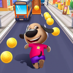Talking Dog: Puppy Surfs Runner 1.6 (Mod)