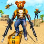 Teddy Bear Gun Strike Game: Counter Shooting Games    2.7  (Mod)