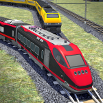 Train Racing Simulator: Free Train Games 10.2 (Mod)