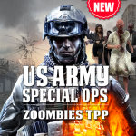 US Army Special Ops – Army Shooting Game – Zombies 3.2  (Mod)