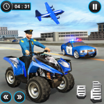 US Police ATV Quad Bike Plane Transport Game 1.1.16 (Mod)