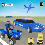 US Police Limousine Car: ATV Quad Transporter Game 1.3 (Mod)