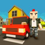 Virtual Life In A Simple Blocky Town 1.9 (Mod)