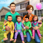 Virtual Mother Baby Quadruplets Family Simulator 1.0.6 (Mod)