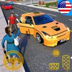Yellow Cab American Taxi Driver 3D: New Taxi Games 1.7 (Mod)