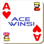 Ace Wins! A simple 3 cards game. 2.0 (Mod)
