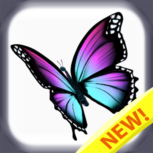 Butterfly color by number : Bugs coloring book 1.5 (Mod)
