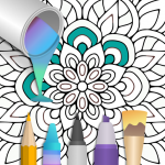 100+ Mandala coloring pages 2.1.3 (Mod)