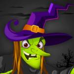 Angry Witch vs Pumpkin: Scary Halloween Game 2019 2.3 (Mod)