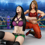 Bad Girls Wrestling Game: GYM Women Fighting Games  1.3.8 (Mod)