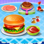 Burger Maker Fast Food Kitchen Game 0.6 (Mod)