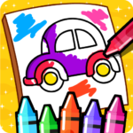Cars Coloring Book for Kids – Doodle, Paint & Draw 2.4 (Mod)