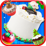 Christmas Cake Maker Bake & Make Food Cooking Game 1.8 (Mod)