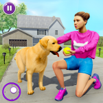 Family Pet Dog Home Adventure Game 1.2.6   (Mod)