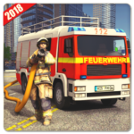 Firefighter Simulator 2018: Real Firefighting Game 1.11 (Mod)