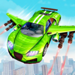 Flying Robot Car: Robot Fighting Games 2.3 (Mod)