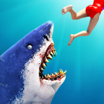 Hungry Shark Attack Simulator: New Hunting Game 30.8 (Mod)