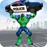 Incredible Monster Robot Hero Crime Shooting Game 2.0.3 (Mod)