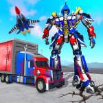 Indian Police Robot Transform Truck 1.14 (Mod)