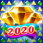 Jewel & Gems Mania 2020 – Match In Temple & Jungle 8.8.6  (Mod)