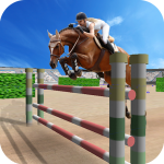 Jumping Horse Racing Simulator 2.4 (Mod)