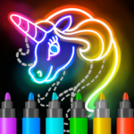 Learn to Draw Glow Cartoon 1.0.19 (Mod)
