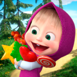 Masha and the Bear: Running Games for Kids 3D 1.1 (Mod)