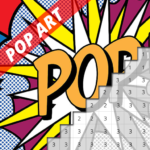 Pop Art Picture Pixel Coloring By Number 7.0 (Mod)