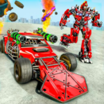 Ramp Car Robot Transforming Game: Robot Car Games 1.2 (Mod)