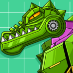 Robot Crocodile Toy Robot War 2.8   (Mod)
