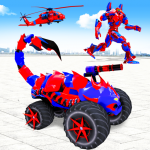 Scorpion Robot Monster Truck Transform Robot Games 9 (Mod)