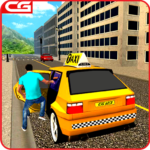 Taxi Driving Games Mountain Taxi Driver 2018 1.6 (Mod)