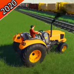 Tractor Trolley Farming Simulator 2020 1.04 (Mod)