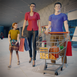 Virtual Mother Supermarket – Shopping Mall Games 1.0.1 (Mod)