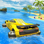 Water Surfer car Floating Beach Drive 1.16 (Mod)