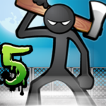 Anger of stick 5 : zombie  1.1.48 (Mod)