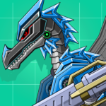 Black Pterosaur Attack – Robot Toy War  (Mod)
