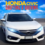 Drifting Car Simulator Civic – Real Car Drifting  (Mod) 1.23