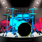 Drum Hero (rock music game, tiles style) 2.4.3(Mod)