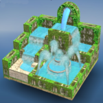 Flow Water Fountain 3D Puzzle 1.2 (Mod)