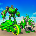 Flying Tiger Robot Car Game: Flying Bike Robot  (Mod) 3.0.1