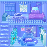 Frozen Dollhouse Design,Ice Dollhouse for girls 1.0.9 (Mod)