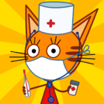 Kid-E-Cats Animal Doctor Games for Kids・Pet Doctor 1.8.5 (Mod)