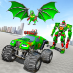 Monster Truck Robot Wars – New Dragon Robot Game 1.0.6 (Mod)