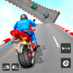 Police Bike Stunt Games: Mega Ramp Stunts Game 1.0.8 (Mod)