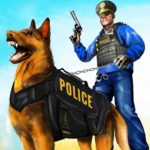 Police Dog Airport Crime Chase : Dog Games 3.1 (Mod)