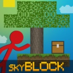 Stickman vs Multicraft: Skyblock Craft 1.1.0 (Mod)