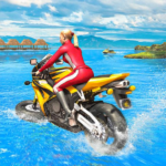 Water Surfer Racing In Moto 1.7 (Mod)