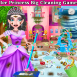 Winter Princess Big House Cleaning- Home Cleaning  (Mod) 11